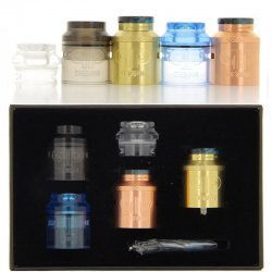 Coffret dripper Kali V2 RDA version Brass Copper de QP Design