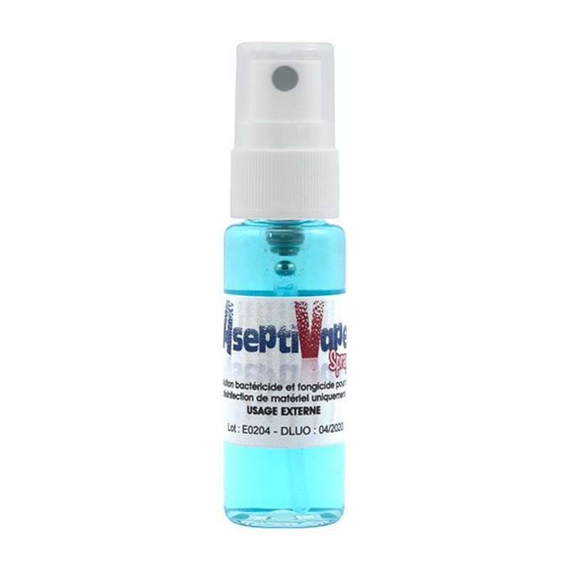 ASEPTIVAPE spray désinfectant pour la vape 20 ml