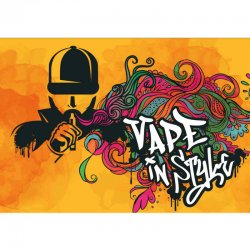 Tapis DIY'UP Vapoteur et tag Vape in style