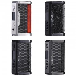 Box high end Centaurus DNA250C TC Lost Vape Carbon Series