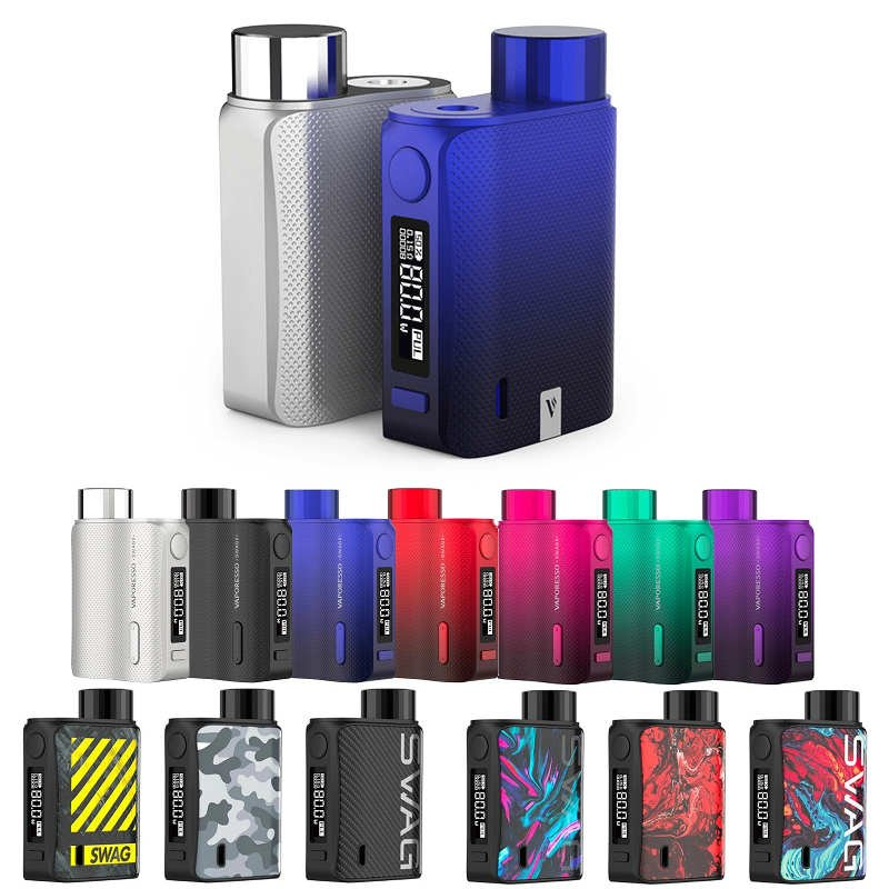 Box Swag II Vaporesso : cigarette électronique compacte