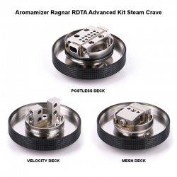 3 decks de l'Aromamizer Ragnar Advanced Kit