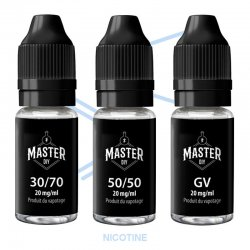 Boosters de nicotine Master DIY 10 ml