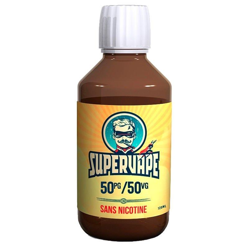 Flacon de base DIY 50-50 Supervape en 120 ml