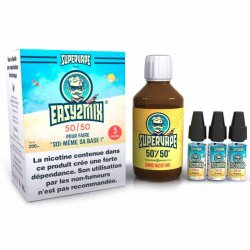 Pack base DIY EASY2MIX 50/50 Supervape 3 mg/ml