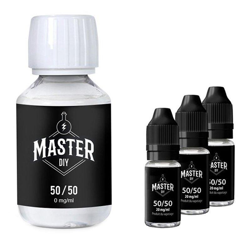 Pack base eliquide Master DIY 200 ML 3mg