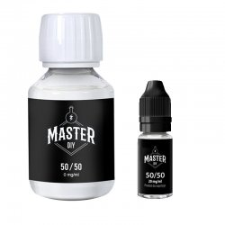 Pack Base 50/50 Master DIY 2mg/ml 100ml