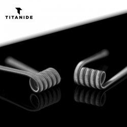 Coils Titanide Fused Clapton 3*26Ga/35Ga