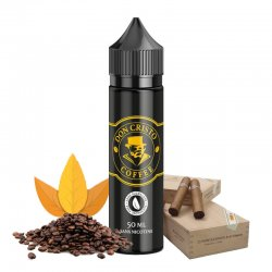 E-liquide Don Cristo Coffee 0% sucralose PGVG Labs 50 ml