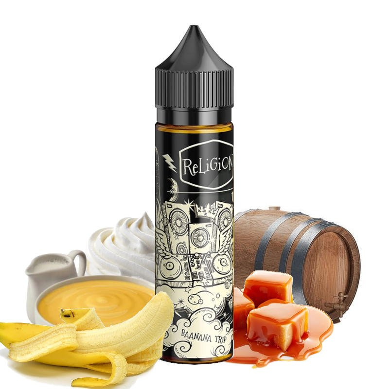 E-liquide Baanana Trip Religion Juice 50 ml