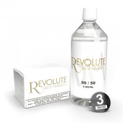 Pack Base DIY 1L 50/50 Revolute 3mg
