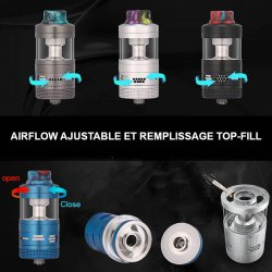Airflow et remplissage top-fill