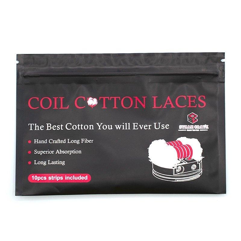 Pads de coton en lacet pour la vape Coil Cotton Laces Steam Crave