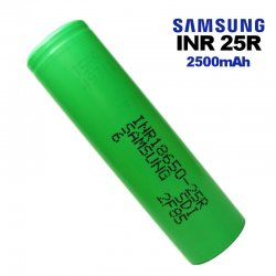 Accu Samsung INR 25R 18650 2500mAh