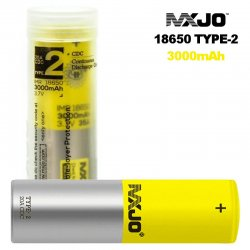 Accumulateur MXJO IMR 18650 3000 mAh Type-2