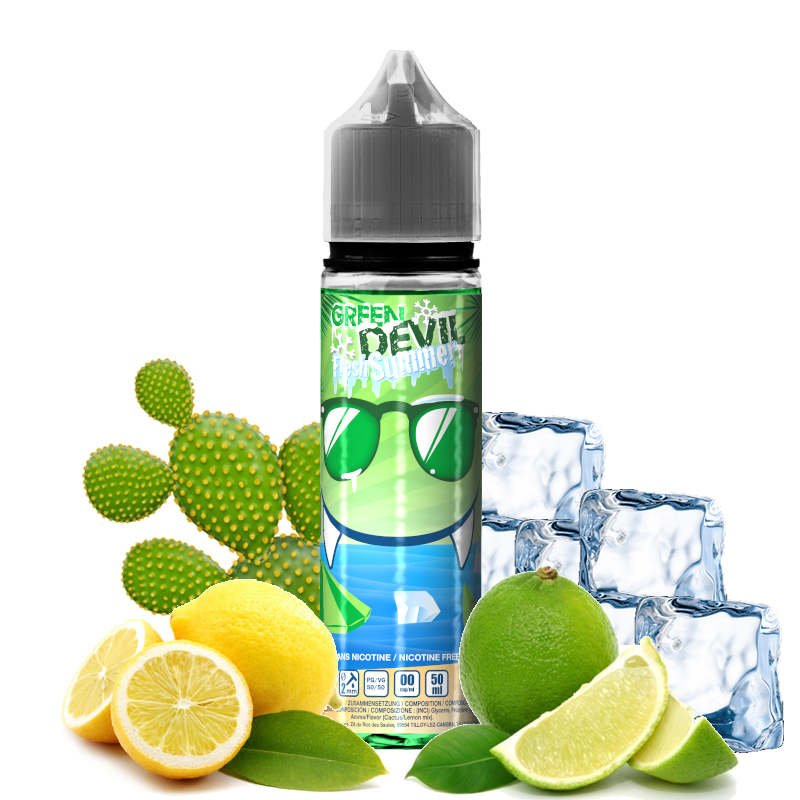 Eliquide Green Devil Fresh Summer Avap 50 ml