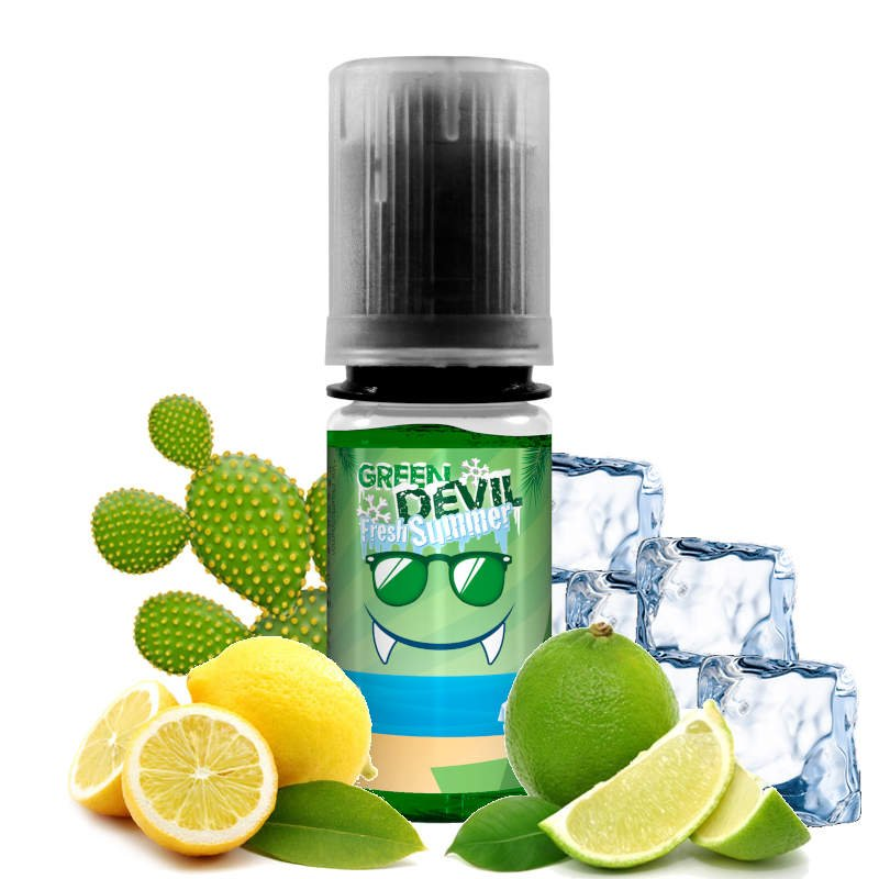 E-liquide Green Devil Fresh Summer Avap 10 ml