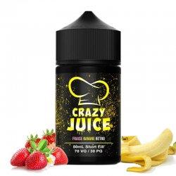 Eliquide Fraise Banane Retro Crazy Juice de Mukk Mukk