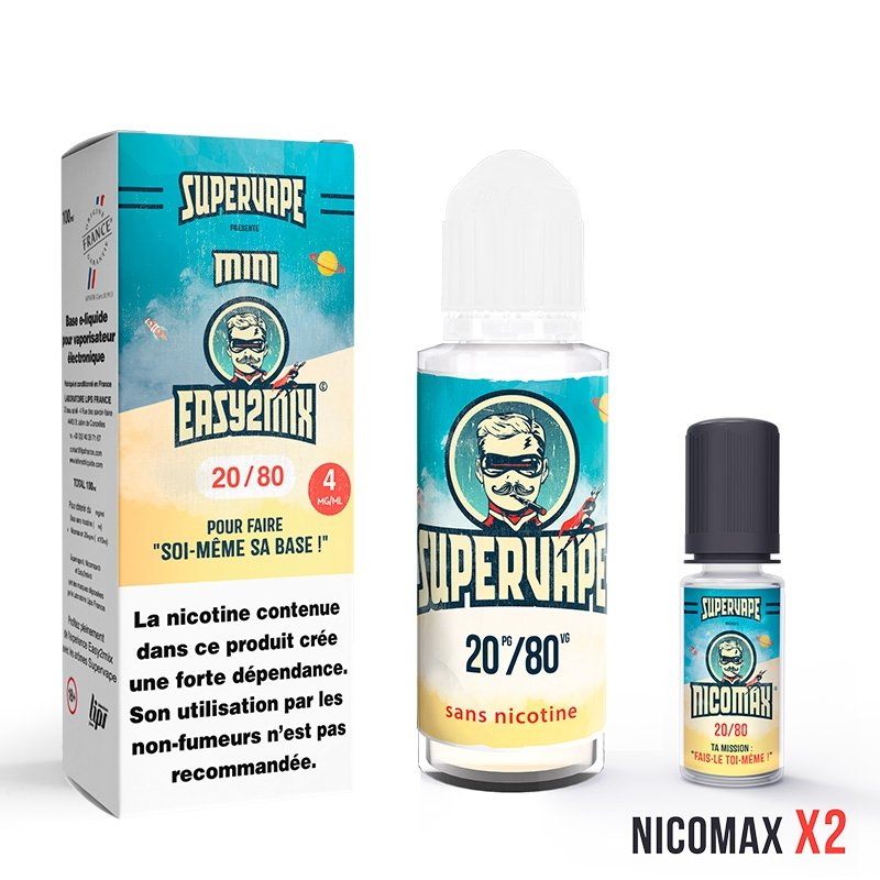 Mini Easy2Mix 20/80 Supervape 100 ml 4mg