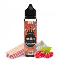 e-liquide Croustillant Framboise Chez Marius by E.Tasty 50 ml