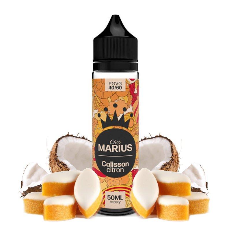 E-liquide Calisson Citron Chez Marius by E.Tasty 50 ml