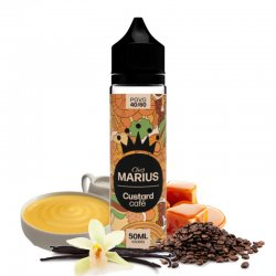 E-liquide Custard Café Chez Marius by E.Tasty 50 ml