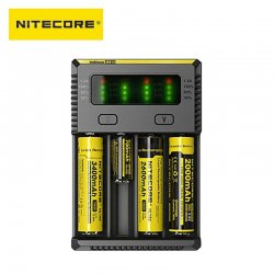 Chargeur 4 accus New i4 Nitecore