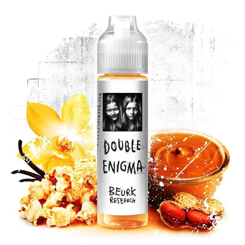 E-liquide Double Enigma Beurk Research 40 ml