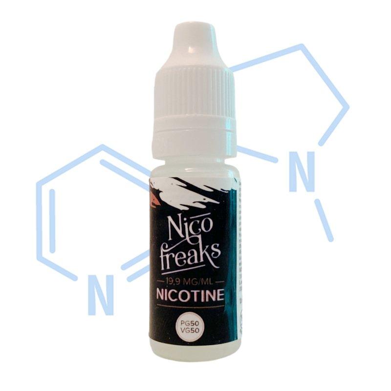 Booster nicotine 50/50 19.9 mg Nico Freaks de The Freaks Factory