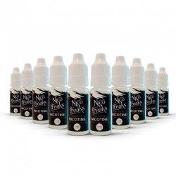 Pack 10 boosters de nicotine Nico Freaks