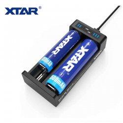 Chargeur USB 18650 Xtar MC2 Plus