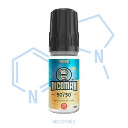 Booster nicotine Nicomax Supervape PG/VG 50/50 20mg/ml 10 ml