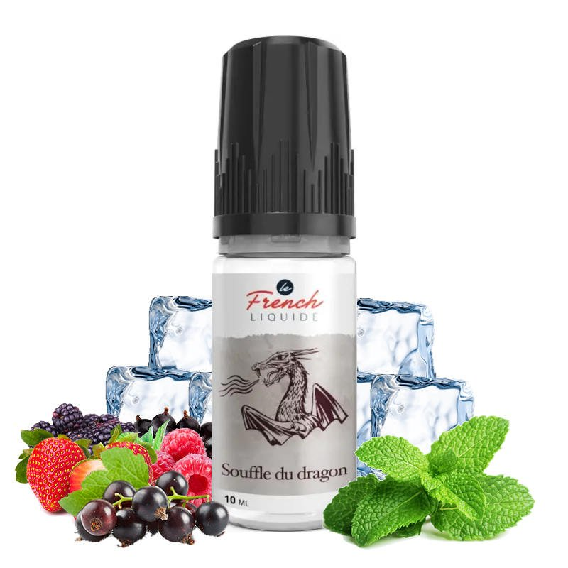 Eliquide Souffle du Dragon Le French Liquide 10 ml