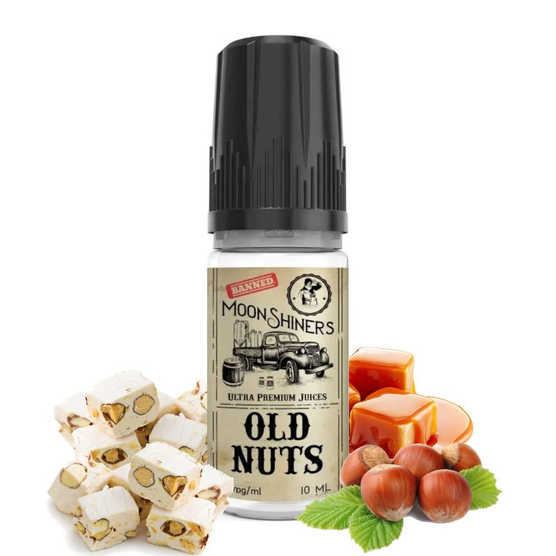 E-liquide Old Nuts Moonshiners Le French Liquide 10 ml