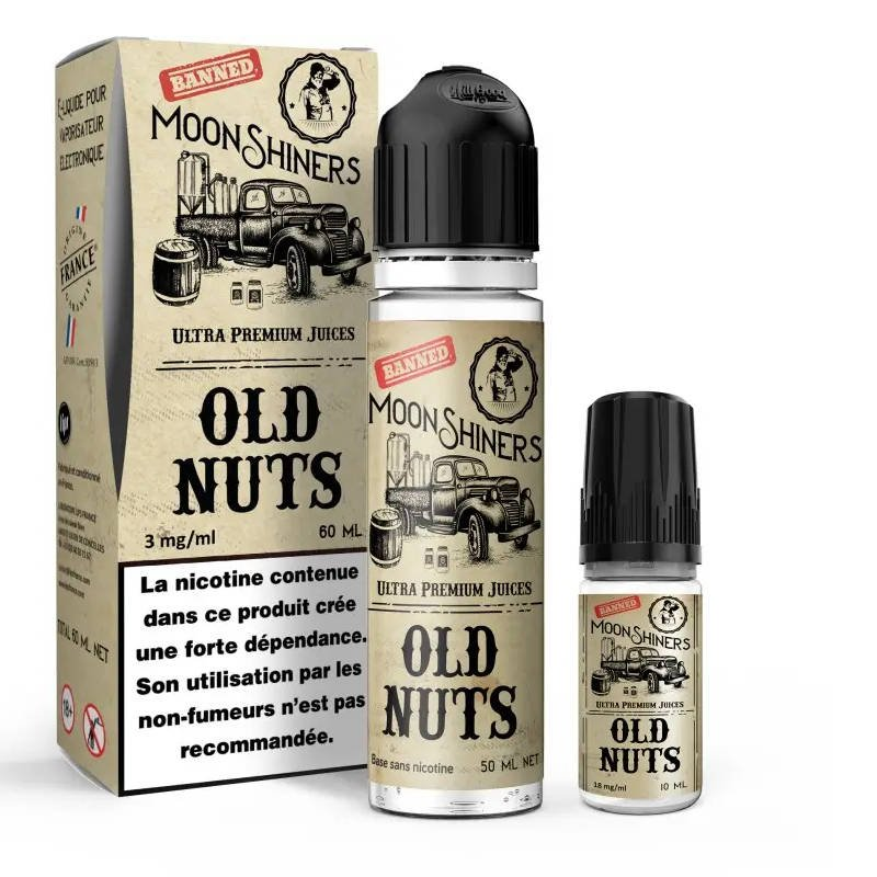 Kit Old Nuts Moonshiners 60 ml 3mg