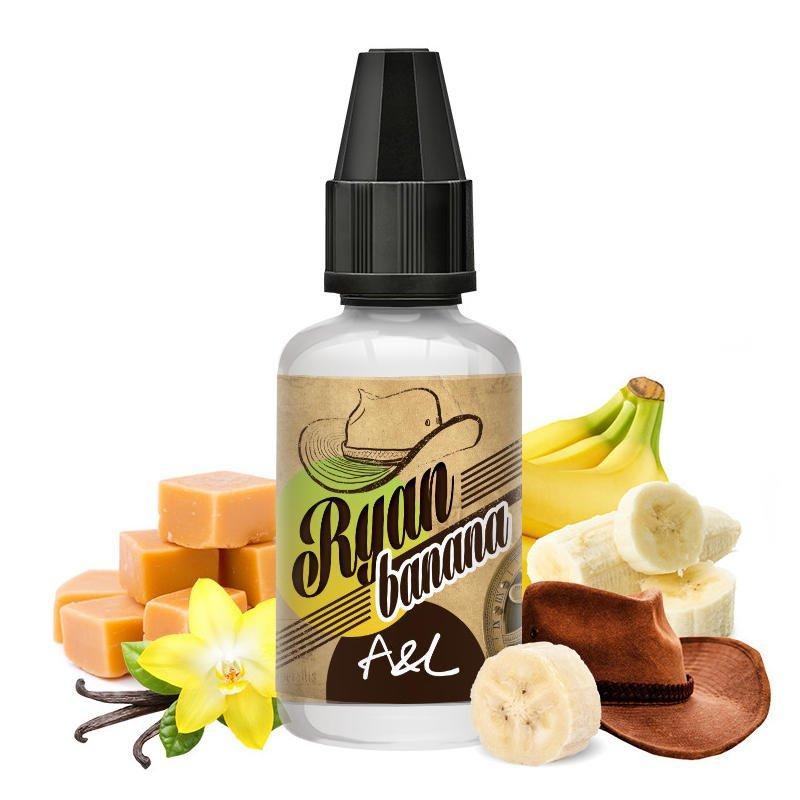 Arôme concentré Ryan Banana A&L 30ml