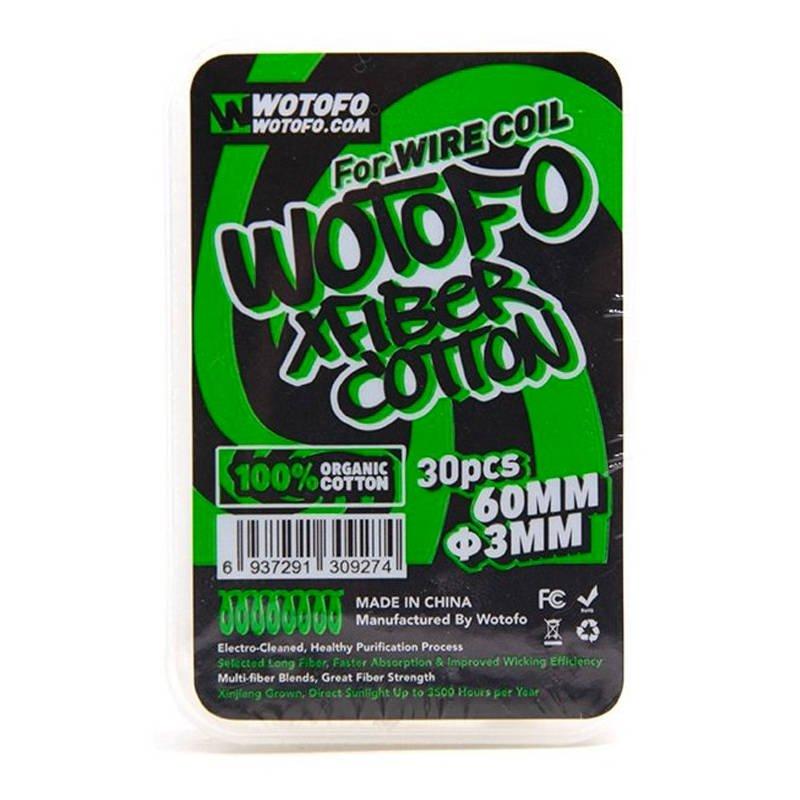 Lacets de coton Coton Xfiber Wire Coil Wotofo
