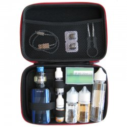 Exemple utilisation pochette de rangement pour cigarette électronique