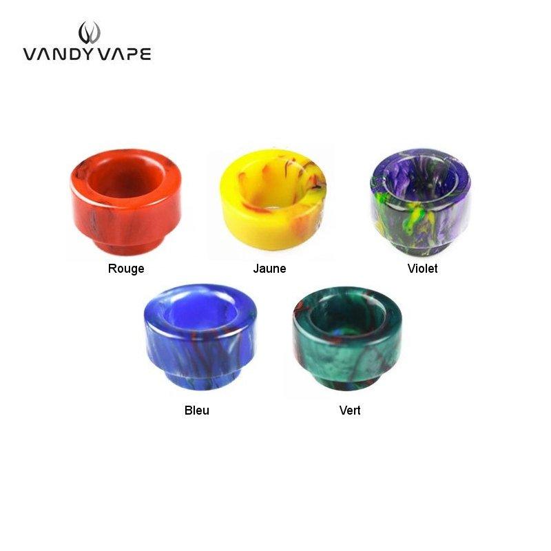 Drip Tip 810 Résine Vandy Vape 5 couleurs