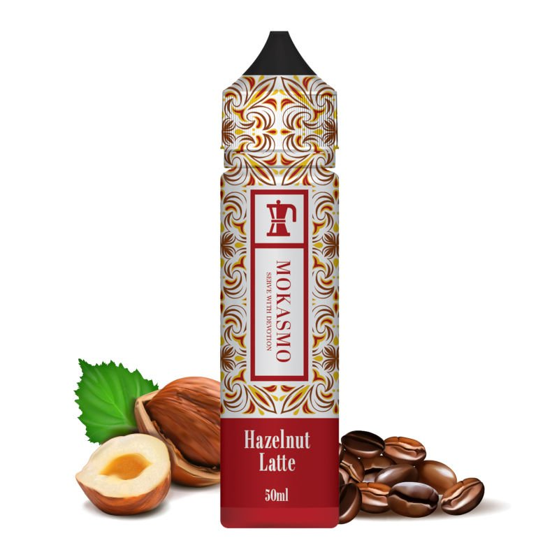 Eliquide Hazelnut Latte Mokasmo by Aisu 50 ml