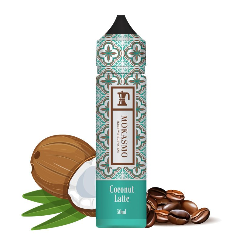 Eliquide Coconut Latte Mokasmo by Aisu 50 ml