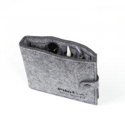 Mini tool kit Pilot Vape feutre gris fermé
