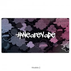 Tapis WE ARE VAPE pour DIY et reconstructible