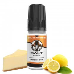Eliquide au sel de nicotine Poison Eye Salt E-Vapor 10 ml
