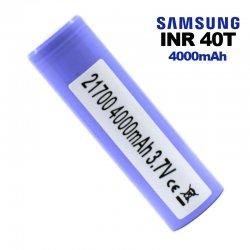 Accu Samsung 40T 21700 pour cigarette électronique