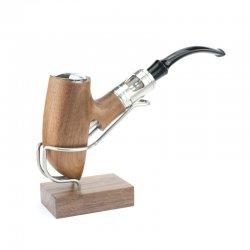 E-pipe mécanique Scarecrow Walnut 18650 - Créavap