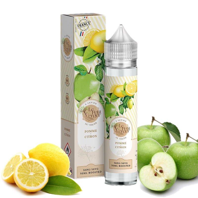 Eliquide Pomme Citron Le Petit Verger 50 ml