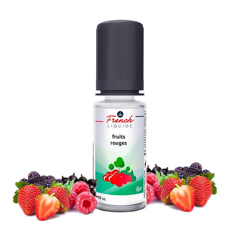 Eliquide Fruits rouges Le French Liquide 10 ml