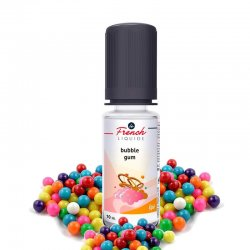 Eliquide Bubble Gum Le French Liquide 10 ml