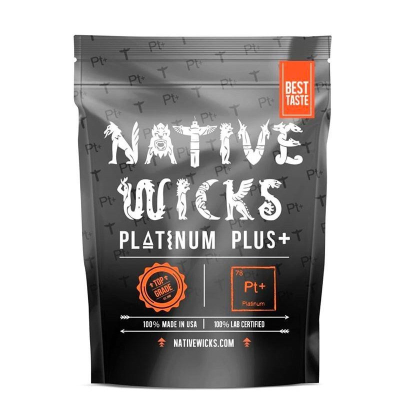 Coton japonnais organique Platinum Plus + Native Wicks